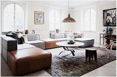 Modern living room sectional