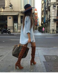 More Colors – More Fall / Winter Fashion Trends To Not Miss This Season. - Street Fashion, Casual Style, Latest Fashion Trends - Street Style and Casual Fashion Trends Look Fashion, Daily Fashion, Street Fashion, Dress Fashion, Fashion Women, Fashion Tag, Fashion Outfits, Petite Fashion, Fashion 2018