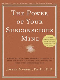 The Subconscious Mind is unable to reason, therefore is unable to reject anything that it is told by you the 'conscious mind' in essence