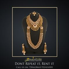 Our Antique Jewellery Set, is a perfect Bridal Set for you this wedding season which includes Bajuband, Hathphool, Damini, Maang Tikka.  SKU Code - K511 MRP - Rs. 27700 Rent - Rs. 6825  Website - www.srishringarr.com  #RentIsTheNewBlack  #RentFashion #AntiqueJewellery #JewelleryOnRent #Jewellery #BridesOfIndia #India #Mumbai #VileParleEast #Brides #IndianWeddings #Weddings #BridesMaids #RentJewllery #SummerJewellery #RentIt #Rent #Fashion #BridalLook #BridalAttire