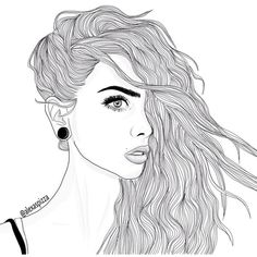 """outlines ?? on Instagram: """"This is a commission i did for... ❤ liked on Polyvore featuring filler and outline"""