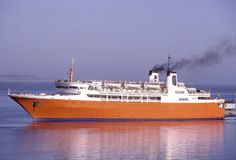 Ferry Boat, Paros, Santorini, Over The Years, Boats, Sailing, Greece, Ships, Image
