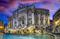 Trevi Fountain (Rome, Italy) by Domingo Leiva - Photo 62773687 / 500px