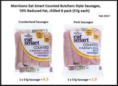 Morrisons sausages syns