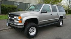 """1999 Chevy Suburban LT w/ 6"""" Lift and engine upgrades *PRICE REDUCED* - www.ifish.net"""