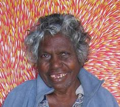 Gloria Tamerre Petyarre (Tamerre is Gloria's 'bush name' given to her by her father) was born in 1945, she is one of the well known 'Seven Petyarre Sister's' of the Utopia Region 230kms north east of Alice Springs in Central Australia.