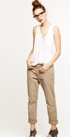 slouchy, summer cool.