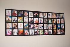 Comment afficher vos plus belles photos de famille tout en les intégrant totalement dans la décoration de votre intérieur ? Ces quelques ingénieuses idées vous inspireront peut-être.  Encore mieux que les albums à feuilletier et les cadres...