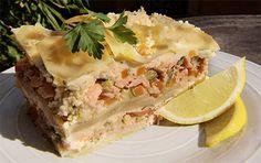 Gluten Free Salmon Lasagna » San Remo