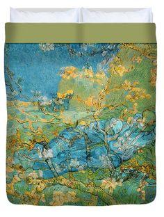 David Bridburg Duvet Cover featuring the digital art Rustic 6 Van Gogh by David Bridburg