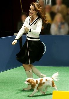 """How about when she was the most fashionable dog owner to exist at any dog show EVER? 