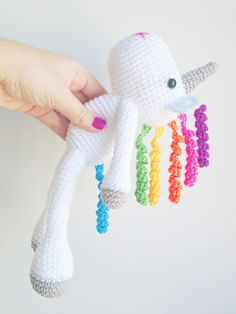 Unicorn Plush Unicorn Stuffed Animal Unicorn par MarigurumiShop