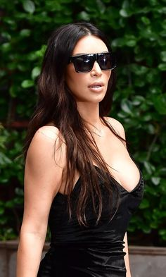 70d7a236ea Put On Your Sunglasses  Kim Kardashian Has a Massive Upgrade Engagement Ring