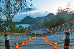 Misibis Bay, wedding, events, resort, accommodation, Albay, Philippines, Mango Tours, amphitheater, reception
