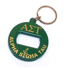 One of the oldest oldies ~ Alpha Sigma Tau Sorority Bottle Opener Keychain