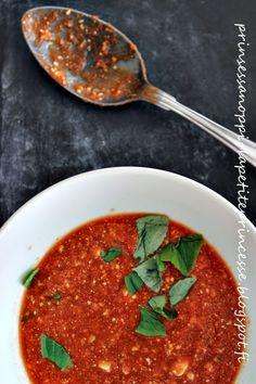 LA PETITE PRINCESSE: tomaatti-vuohenjuustokeito