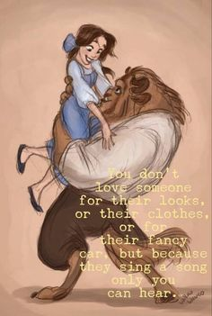 Beauty and the Beast: I Love this I found my beast and dont get this qou. beauty and the beast I Love this I found my beast and dont get this qoute twisted that doesnt mean… Disney Magic, Walt Disney, Disney Pixar, Disney Amor, Disney Films, Disney And Dreamworks, Disney Videos, Disney Princess Belle, Disney Beauty And The Beast
