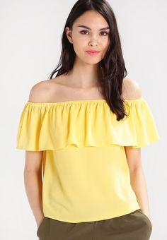 Dorothy Perkins Camicetta - yellow - Zalando.it
