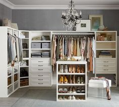 Master bedroom closet inspiration - Build Your Own - Sutton Modular Cabinets