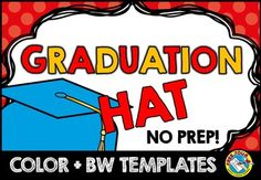 #END #OF #YEAR #CRAFTS: #GRADUATION #HAT #TEMPLATES