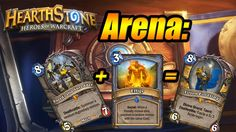 Hearthstone:lucky arena - Old Shredder+Effigy=Tirion