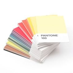 pantone postcard collection