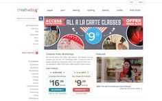 Win a chance to try out Creativebug online craft classes!