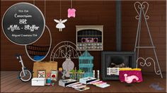 Sims 4 CC's - The Best: Set Milla-Steffor by Miguel Creations
