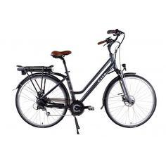 Schweizer Design für die Stadt - mit unserem Cilo City E-Bike - Lithium Akku, 7 Gang SHIMANO Kettenschaltung, Höchstgeschwindigkeit ca. 25 km/h und ein leichter Aluminiumrahmen 46 cm runden das Profil ab. Auf die Pedale, fertig los - Schnell und Elegant in der Stadt unterwegs. Bicycle, Elegant, Design, Veils, Profile, Swiss Guard, City, Classy, Chic