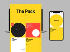 MotionLand by Alexander Laguta for Laguta & Laguta on Dribbble Interface Web, User Interface Design, Web Design Mobile, H Words, Plakat Design, Ui Web, Web Layout, Website Layout, Ux Design