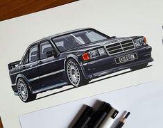 Mercedes 190 Evo, Vehicles, Car, Autos, Automobile, Cars, Vehicle, Tools