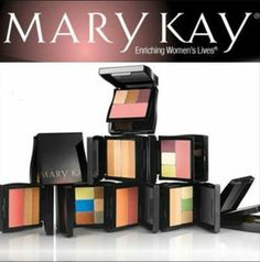 Love colors! Eyeshadows, blush, bronzers and more! Contact me today to get your beautiful colors. Www.marykay.com/agillispie1