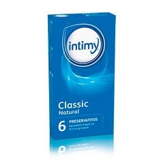 INTIMY CLASSIC NATURAL 6 UDS
