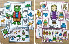 Undervisningsopplegg for populære eventyr, til barnehage, småtrinnet og mellomtrinnet. Undervisning knyttet til eventyr er kjekt for store og små! Kids Education, Comics, Art, Poster, Comic Book, Kunst, Comic Books, Comic