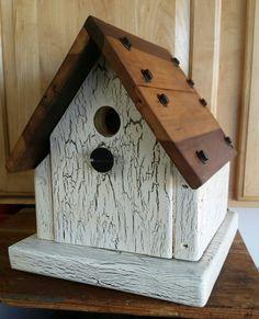 Industrial 8 pound birdhouse