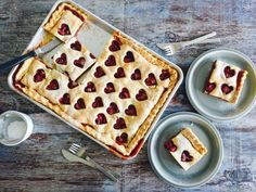 Make and share this Chocolate Strawberry Slab Pie recipe from Food.com.