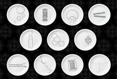 The Dishoom restaurant in London has started an interesting campaign to collect customers food memories and experiences and print them on plates. Plate Design, Design Art, Graphic Design, Restaurant Plates, British Restaurants, Dishoom, London Cafe, Organic Lines, Creative Advertising