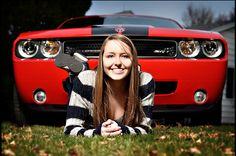 senior with car