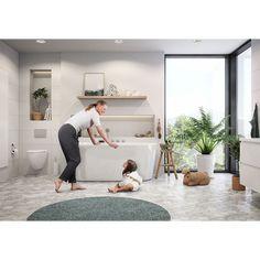Rand er et frittstående badekar, helstøpt uten avtabart panel. Dette populære badekaret leveres med sluk og overløp og karkanten er bred nok til å montere badekarsbatteri. Leveres også i størrelsen 180.