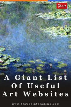 A Giant List Of Useful Art Websites art art drawings art ideas art websites art journal via drawpaintacadem Art Inspiration Drawing, Guache, Wow Art, Teaching Art, Art Techniques, Acrylic Painting Techniques, Art Tutorials, Drawing Tutorials, Painting & Drawing