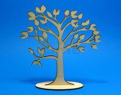 Drewniane drzewko szczęścia 20cm na prezent | Ozdoby