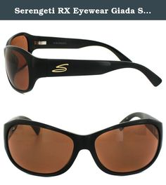 35f984a5aee5 Serengeti RX Eyewear Giada Sunglasses Shiny Black Drivers     Find out more  about the great product at the image link.