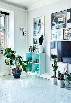 TV'et som en del af billedvæggen