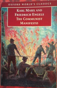 MARX, Karl; ENGELS, Friedrich. The Communist Manifesto. Edited with an Introduction and Notes by David McLellan. 1st. ed., reis. Oxford: Oxford University Press, 1998. 68 p. (Oxford World's Classics) ISBN 0-19-283437-1.