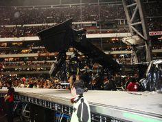 U2 360° TOUR MEXICO CITY AZTEC STADIUM My Personal Collection.  Soundcheck