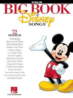 The Big Book of Disney Songs: Violin Sheet Music / Songbook in Musical Instruments & Gear, Musical Instruments & Gear | eBay