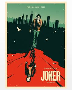 [Artwork] Joker Poster [by Rico Jr] 80s Movie Posters, Movie Poster Art, Poster S, Photos Joker, Joker Images, Joker Poster, Art Du Joker, Fotos Do Joker, Joker Kunst