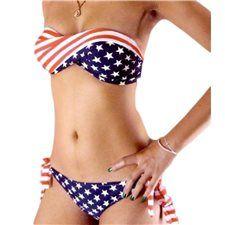 Bikini Drapeau Américain Dreshtanz  42,50€