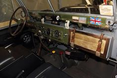 1964 Land Rover 109 SE2a Safari wagon Expedition Restoration dash