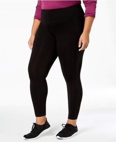 fda2da231d Ideology Plus Size Slimming Ankle Pants Plus Size Activewear, Plus Size  Pants, Ankle Pants
